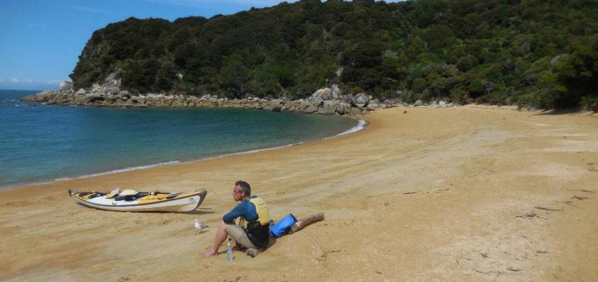 Seakajak fahren im Abel Tasman National Park