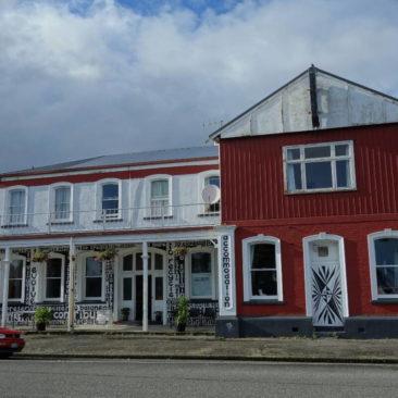 Das Art Hotel in Westport - einfach und ein wenig skuril, aber sehr zu empfehlen