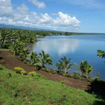 Blick auf eine der vielen Buchten auf Savai'i