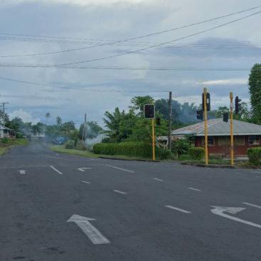 Die einzige Ampfelanlage auf Savai'i, die ich allerdings nie in Betrieb sah