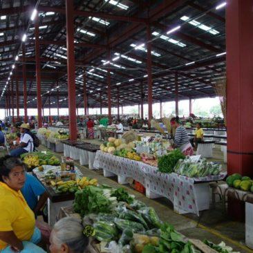 Der große Markt von Apia