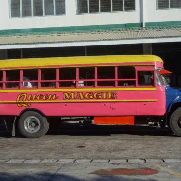 Einer der typischen Buse auf Samoa