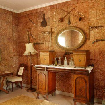 Ein Zimmer im Robert Louis Stevenson Museum