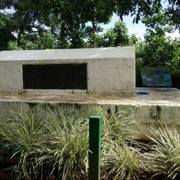 Das Grab von Robert Louis Stevenson