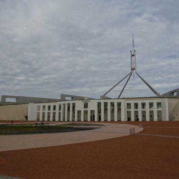 Das australische Parlamentsgebäude