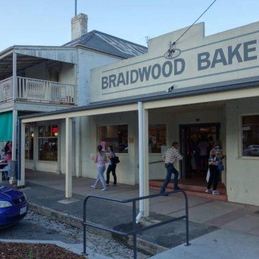 Die Bäckerei in Braidwood, in der es wirklich ausgezeichnete Pies gibt