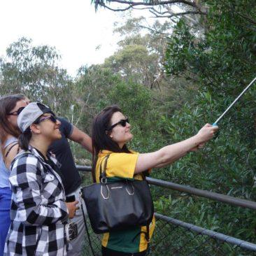 """Das populärste Weihnachtsgeschenk 2014 in Australien und Neuseeland - der """"Selfie Stick"""""""