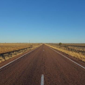 Unendliche Weite im australischen Outback