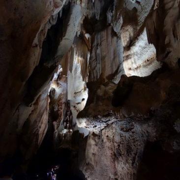 Felsformation in der Cutta Cutta Höhle