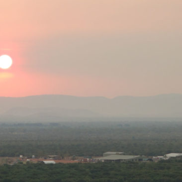 Sonnenuntergang über Kununurra