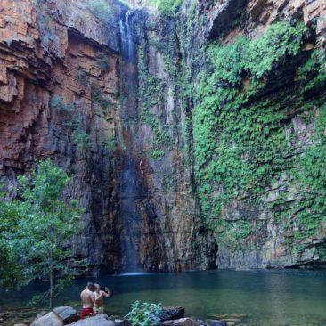 Das Wasserloch am Ende von Emma Gorge