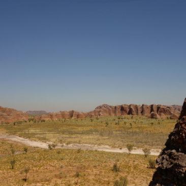 Ausblick auf die Bungle Bungle Range vom Aussichtspunkt