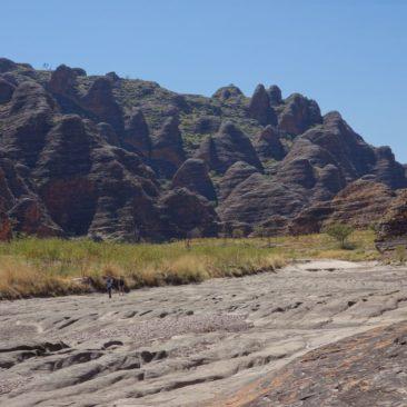 Die Bungle Bungle Felsen sind wirklich sehr zahlreich