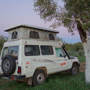 """Das """"Ersatzauto"""" für die letzte Woche - ein Campervan"""