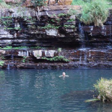 Ein erfrischendes Bad im Circular Pool