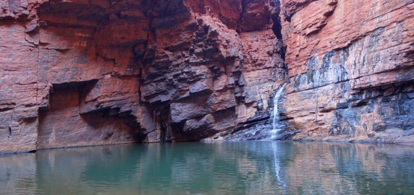 Handrail Pool in der Weano Gorge
