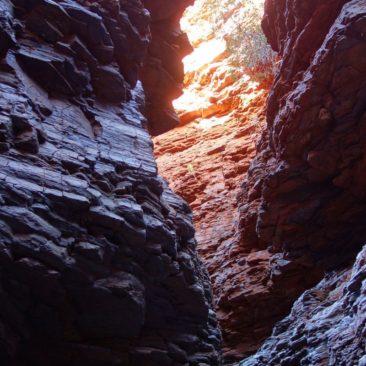 Fantastische Lichtstimmung in der Weano Gorge