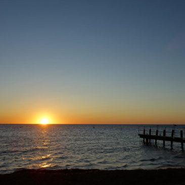 Sonnenuntergang bei Jurien Bay