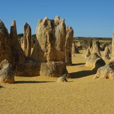 Die Erosion hat zum Teil bizarre Kreationen geschaffen