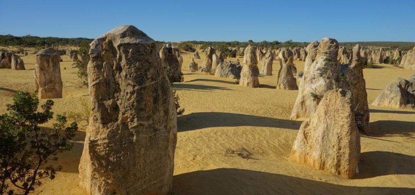 The Pinnacles, Perth und Sydney zum Abschied