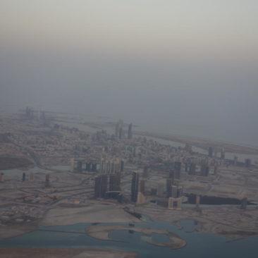 Abu Dhabi aus der Luft