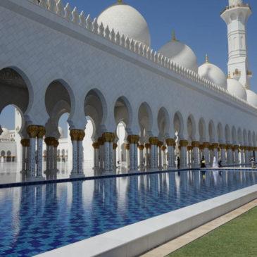 Zwischenstopp in Abu Dhabi