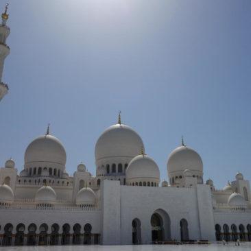 Die Hauptkuppel der Moschee gilt als größte der Welt