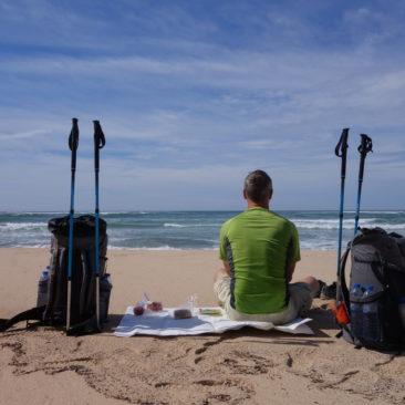 Entspannte Ruhe am Strand - gut für Körper und Geist.