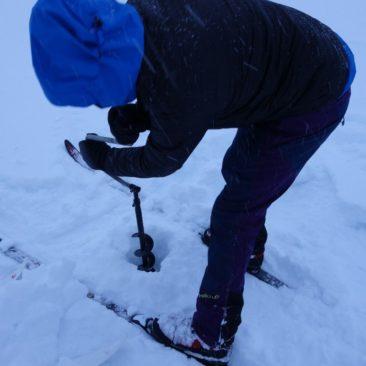 Leider ohne Erfolg - finnischer Eisangelversuch