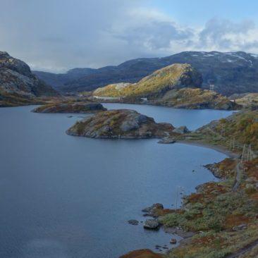 Ein Bergsee in der Hardangervidda