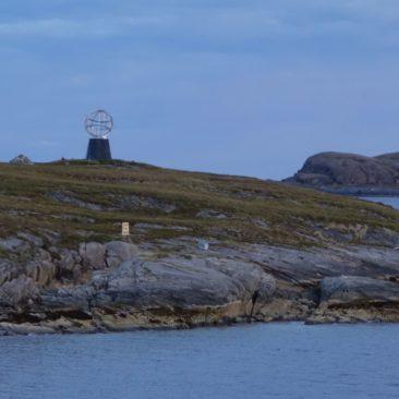 Landmarke für den Polarkreis