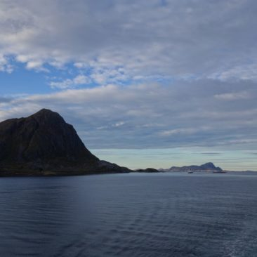 Schroffe Küstenlandschaft Norwegens