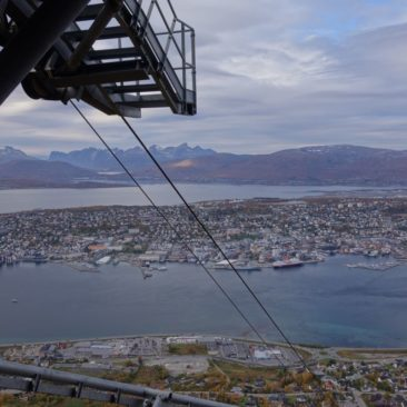 Ausblick über Tromsø
