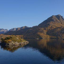 Norwegens schroffe Küstenlandschaft