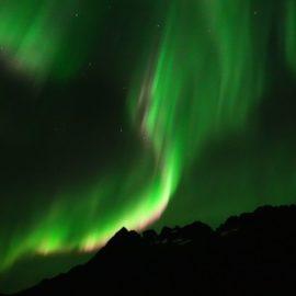 Polarlicht über den Lofoten
