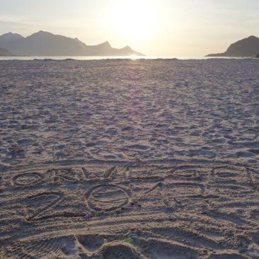 Am Strand von Haukland
