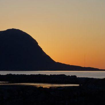 Sonnenuntergang auf den Lofoten