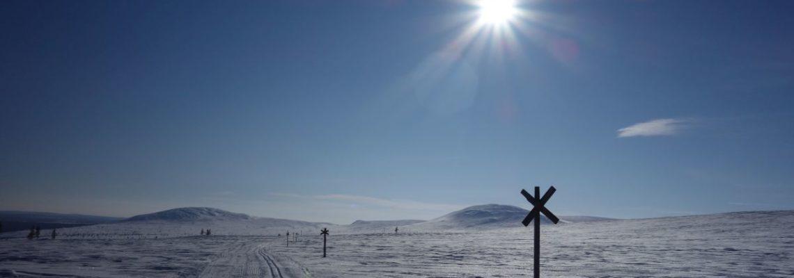 Im finnischen Schnee von Hetta nach Ylläs